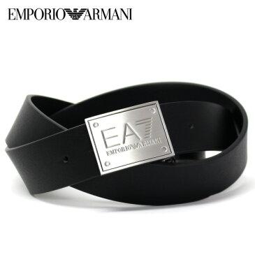 [大決算セール]エンポリオ・アルマーニ『EA7』 ロゴバックル ベルト【ブラック】275524 7A693 23820/EMPORIO ARMANI/goods