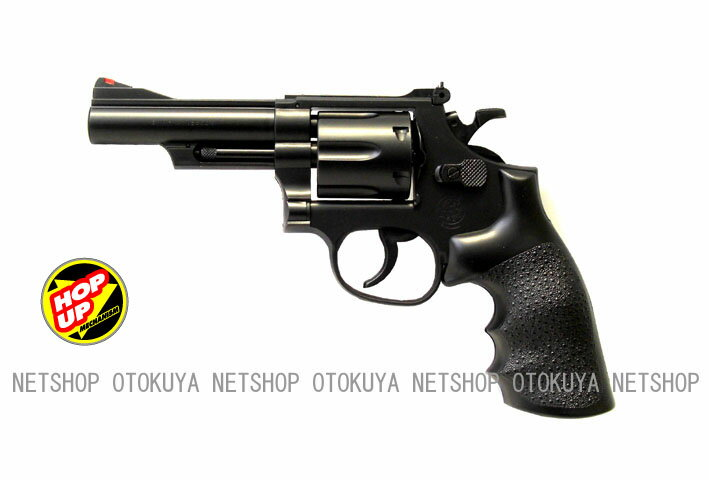 エアガン リボルバー S&W M19 .357コンバット マグナム 4インチ (No.6)【クラウンモデル】【10才以上用】画像
