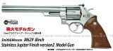 発火モデルガンS&W M629 8インチ ステンレスジュピター フィニッシュ Ver.2【タナカワークス TANAKA】【発火モデルガン】【18才以上用】