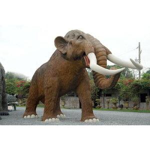 なんと!全長10m!重さ3600kg!巨大マンモス全長10m超!マンモス超巨大造形物(恐竜等身大フィ...