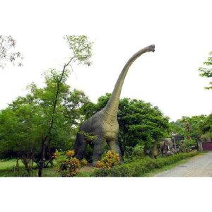 なんと!高さ18m!重さ3000kg!!高さ18m超!ブラキオサウルス超巨大造形物(恐竜等身大フィギ...
