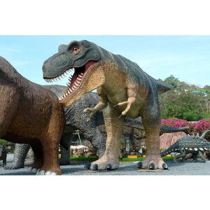 なんと!全長14m!重さ2700kg!巨大恐竜!全長14m超!ティラノサウルス T-REX 超巨大造形物(恐...