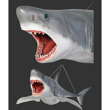 全長3.3m!ジョーズ(サメ)巨大フィギュア・吊り下げタイプ(等身大フィギュア)