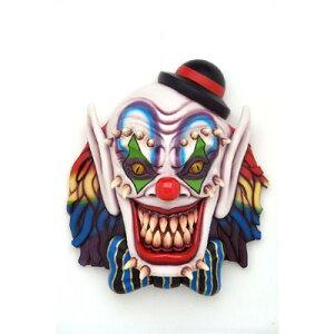 恐ろしいピエロ(Scary Clown)高さ150cmがやって来る!縦150cm恐ろしいピエロ 巨大ウオールデ...