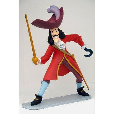 ピーターパン 海賊 フック船長・ビッグ 等身大フィギュア 身長200cmのビッグサイズのフック船長!