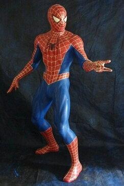 スパイダーマン(スタンディング・クモの糸)Bビッグ 等身大フィギュア