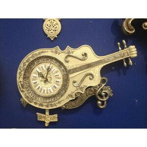 シックなチェロを模ったウォールクロックウォールクロック(壁掛け時計)「チェロ」