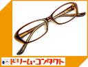 .梅ネコメガネ【DK2221-c2】(セルフレーム+薄型レンズ+メガネ拭き+ケース付き)茶系【がんばろ...