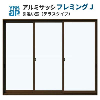 商品リンク写真画像:三枚 引き違い窓(掃き出し)の例 25620 (ドリームさんからの出展) ※引き違い窓の種類と形状解説写真4