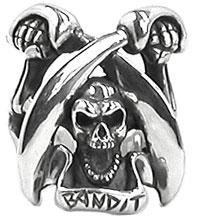 メーカー取り寄せ品バンディットスカルリング/指輪/Gemina/ジェミナ