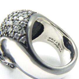 【新作】【holloow/ホロウ】ニルスカルリング(シルバー)/指輪【_包装】