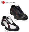 【送料無料】ゴルフステーツ4WDスパイクレス【3.5E】 ゴルフシューズ GSS-4004 /GOLF STATES