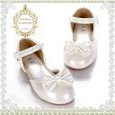 リボンとパール飾りのパールホワイト フォーマル 七五三 発表会 靴 シューズ キッズシューズ 子供 シューズ 子供シューズ フォーマル靴 女の子 子供 靴 キッズ 子供靴 激安 結婚式 入学式