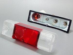 【社外バンパー用】スズキSUZUKIジムニーJimnyウィンカー透明部クリアー仕様テールランプユニット左右セットSJ30/SJ40