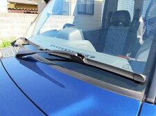 【MelcoRacing】替ゴム付エアロワイパー国産車輸入車Uフック2種対応300~650mm