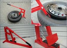 【MelcoRacing】750ccバイクや普通車タイヤもOK!ビードブレーカービード落としタイヤ交換タイヤチェンジャーより手軽!