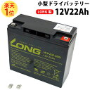 【総合評価 4.6】小型ドライシールドバッテリー 12V22Ah LONG製