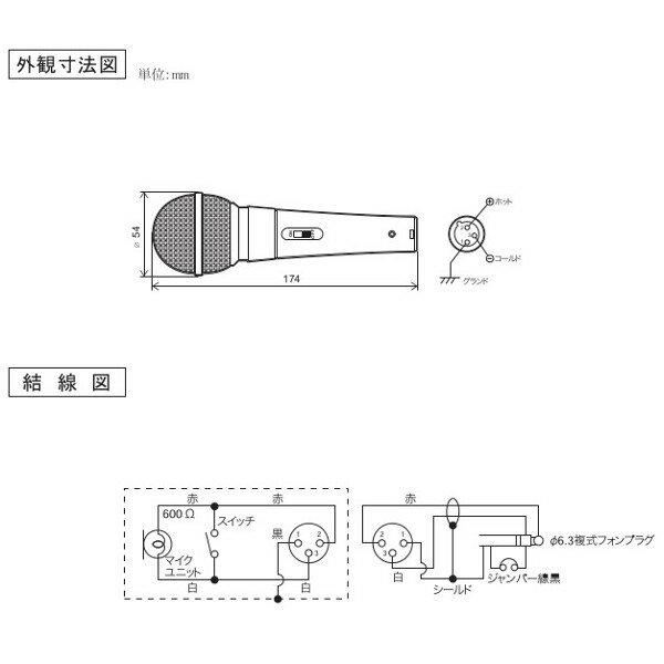JVCビクター(Victor) 単一指向性マイクロホン PS-C501