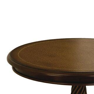 〔木製〕ヨーロッパデザインセンターテーブル〔ブラウン〕