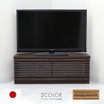テレビ台コーナー完成品幅100cm〔ナチュラル、ブラウン〕〔木製〕北欧デザイン