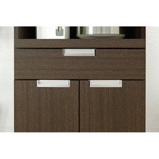 食器棚完成品幅60cmハイタイプスリムタイプ引き出し付きキッチン収納棚キッチン収納家具