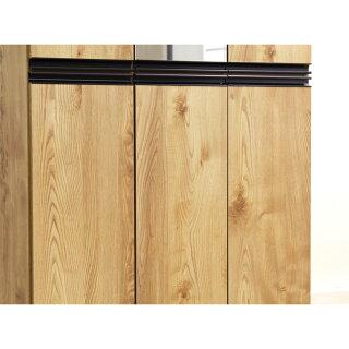 下駄箱シューズボックスシューズラック完成品幅90cmハイタイプミラー付きブラウンナチュラル木製靴箱靴収納収納家具シューズBOXげた箱おしゃれ