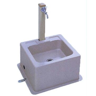 流し台 屋外用シンクユニット ハマネツ SUA-2(2口水栓) [北海道・沖縄・離島・遠隔地への配送要ご相談]