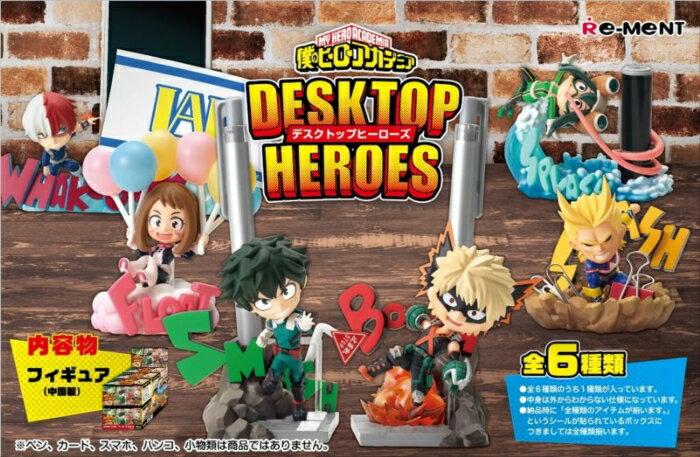 コレクション, フィギュア  DESKTOP HEROES BOX 6 Re-Ment 127