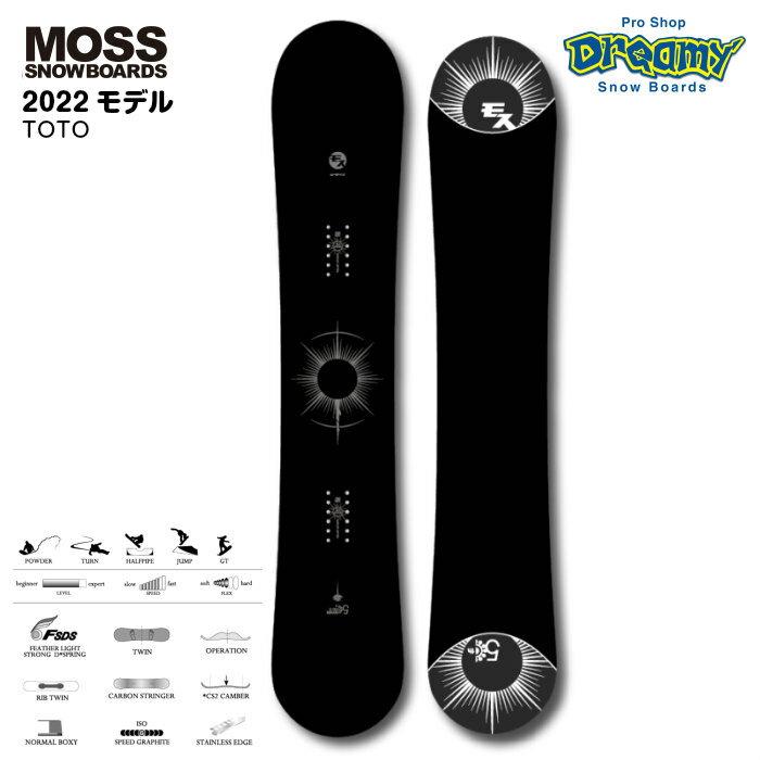 スノーボード用品, ボード 21-22MOSS SNOWBOARD TOTO CS2 3R 2022
