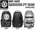 ELEMENT エレメント メンズ MOHAVE PT BAG BBK BLK WHT AH021952 バックパック リュック 容量:30L 2017モデル 正規品
