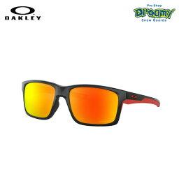 OAKLEY オークリー Mainlink XL 偏光 スタンダードフィット Polished Black Prizm Ruby Polarized ロゴ メインリンク サングラス OO9264-4661 正規品