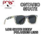 proof�ץ롼��ONTARIOSKATE�������ȥǥå��и���󥺥��󥰥饹THESKATECOLLECTION�ե졼��(LOGSKATEDECK)���(POLARIZEDLENS)���å������ե졼��