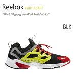 Reebok FURY ADAPT Black/Hypergreen/Red Rush/White 【リーボック】【フューリーアダプト】【AR1868】 シューズ