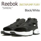 【送料無料】Reebok INSTAPUMP FURY サンダル / Black/White【リーボック】【ポンプフューリー】【V69436】