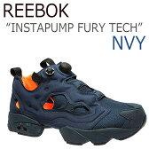 【送料無料】Reebok INSTAPUMP FURY TECH ポンプフューリー / ネイビー【リーボック】【ポンプフューリー】【V63499】