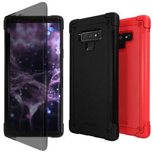 Galaxy Note9 ケース 手帳型 araree N-Flip(アラリー エヌフリップ)ギャラクシー ノート カバー クリア 透明 SC-01L SCV40 Sペン対応 お取り寄せ
