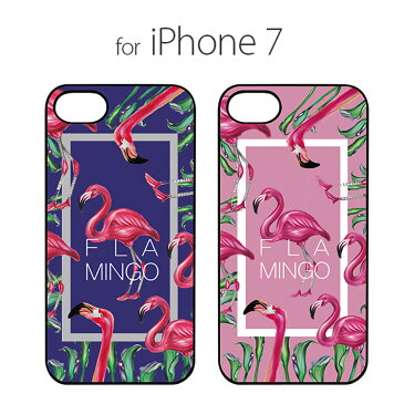 お取り寄せ iPhone8 iPhone7 ケース Dparks ブラックケース FLAMINGO SQUARE ディーパークス フラミンゴスクエア アイフォン カバー