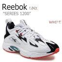 リーボック スニーカー REEBOK メンズ レディース DMX SERIES 1200 DMXシリーズ1200 WHI