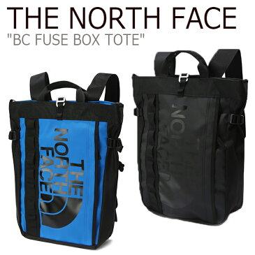 ノースフェイス トートバッグ バックパック THE NORTH FACE メンズ レディース BC FUSE BOX TOTE BCヒューズボックストート BLUE BLACK ブルー ブラック NN2PK31J/K バッグ 【中古】未使用品
