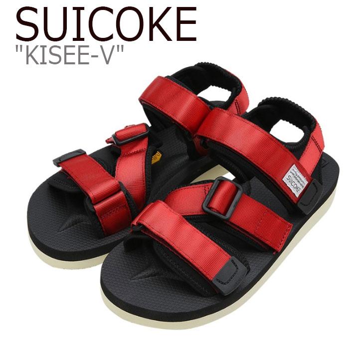 スイコック サンダル SUICOKE メンズ KISEE-V キシーV RED レッド S1404SN01RD シューズ