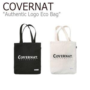 カバーナット トートバッグ Covernat メンズ レディース AUTHENTIC LOGO ECO BAG オーセンティック ロゴ エコバッグ C1802BG01IV/BK バッグ