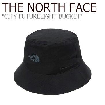 ノースフェイス バケットハット THE NORTH FACE メンズ レディース CITY FUTURELIGHT BUCKET シティ フューチャーライト バケット BLACK ブラック NE3HL34A ACC 【中古】未使用品