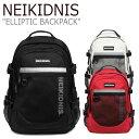 ネイキドニス リュック NEIKIDNIS メンズ レディース ELLIPTIC BACKPACK アリィプティック バックパック BLACK ブラック IVORY アイボリー RED レッド NBP007-032/101/234 バッグ