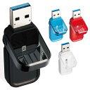 フリップキャップ式 USBメモリ 32GB USB3.1 高速データ転送 ストラップホール装備 エレコム MF-FCU3032G