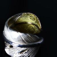 TADY&KINGタディアンドキングgoro'sゴローズ魂継承フェザーリング剣先k18レギュラーサイズtkgr-003フェザーレディース指輪シルバーリングアクセサリーdress-r
