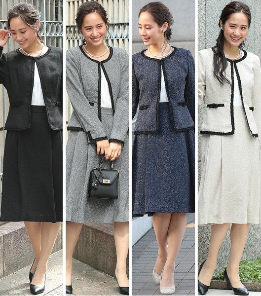 スーツ レディース ママ 入学式 フォーマル