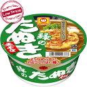 東洋水産 マルちゃん 緑のたぬきそば x 12コケース販売 (カップ麺)