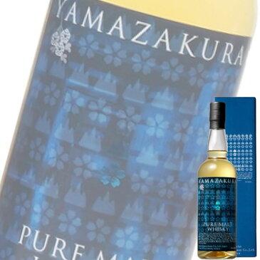 (単品) (地ウイスキー) 笹の川酒造「ピュアモルト山桜」700ml瓶 (国産ウイスキー) (ピュアモルト)