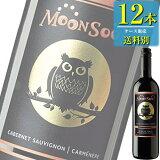 MOONSOON(モーンスーン) カベルネソーヴィニヨン&カルメネール (赤) 750ml瓶 x12本ケース販売 (チリ) (赤ワイン) (ミディアム) (SNT)