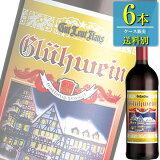 白鶴酒造 グートロイトハウス グリューワイン 赤 1L瓶 (ホットワイン) x 6本ケース販売 (ドイツ) (赤ワイン) (ライト)